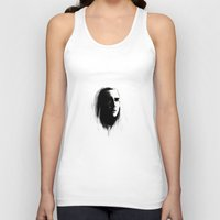 thranduil Tank Tops featuring Thranduil in bnw by LindaMarieAnson