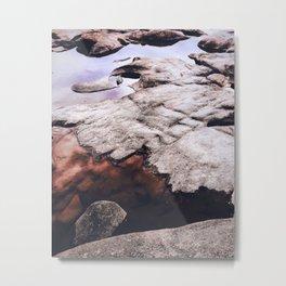Dry Rock Metal Print