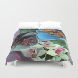 Pieces Of The Puzzle Duvet Cover