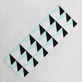 Trichromatic Geometrical Pattern Yoga Mat