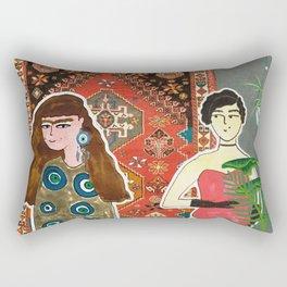 Eye contact Rectangular Pillow