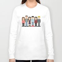 how i met your mother Long Sleeve T-shirts featuring How I Met Your Mother by Evelyn Gonzalez