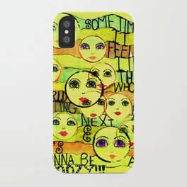 My Next Act iPhone Case