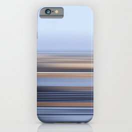 LANDSCAPE IV - Running away before the tide rolls in iPhone Case
