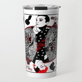 Blurryface Playing Card Travel Mug