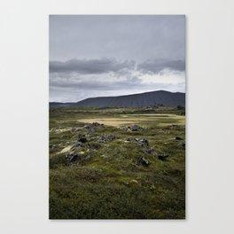 Hverfjall, Mývatn, Iceland Canvas Print