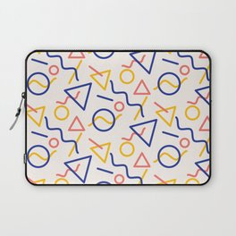 Oh man, I hope you like shapes Laptop Sleeve