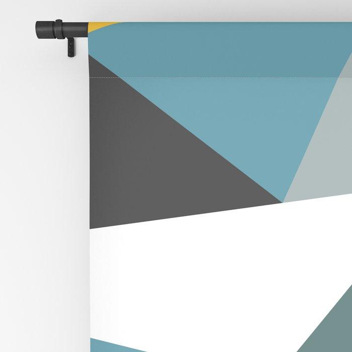 Modern Geometric 36 Blackout Curtain
