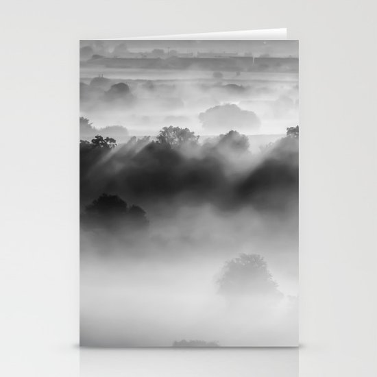 Drifting Morning Mist Stationery Cards