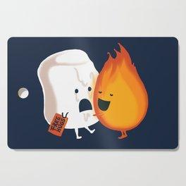 Friendly Fire Cutting Board
