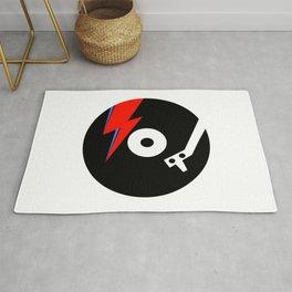 Starman Vinyl Rug
