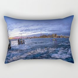 Toronto Ice Rectangular Pillow