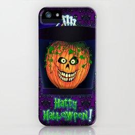Hatty Halloween! iPhone Case