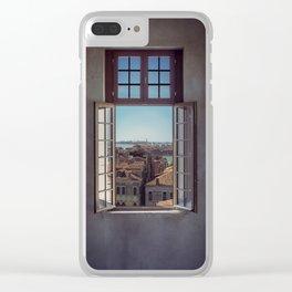 Window in Venice Clear iPhone Case