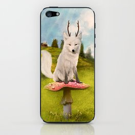 Portrait of a Deer Fox iPhone Skin