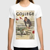 college T-shirts featuring Welcome to... College by Heather Landis