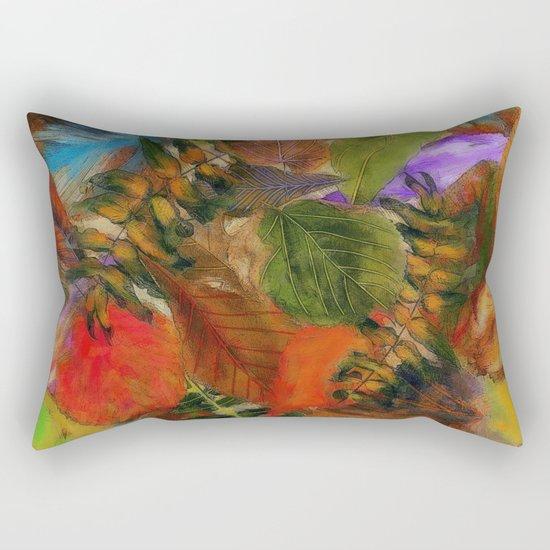 Autumn Leaf Fall 2 Rectangular Pillow