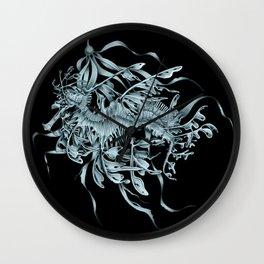LSD Silver Wall Clock