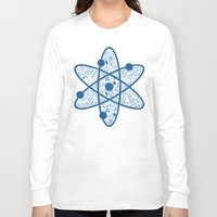 chemistry Long Sleeve T-shirts featuring Chemistry by SandiTyche