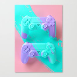 Painted Object Art - Gaming Canvas Print