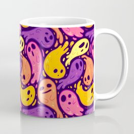 Good Lil' Ghost Gang in Warm Colors Coffee Mug