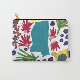 Mississippi + florals Carry-All Pouch