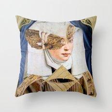 JUNGE FRAU Throw Pillow