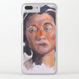 Slipping through Clear iPhone Case
