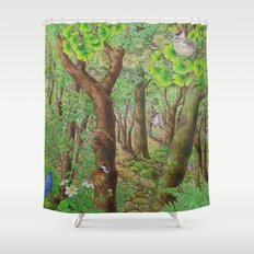 A Day of Forest (2). (sunshine forest) Shower Curtain