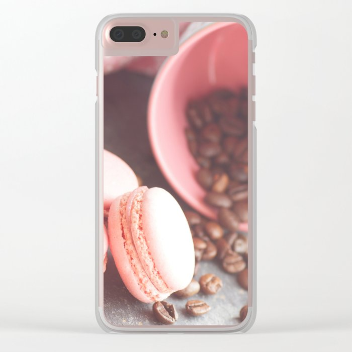 Sweet candycolors cake Clear iPhone Case