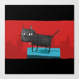 Mystical Cat Canvas Print