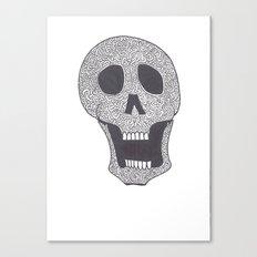 Celtic Skull Canvas Print
