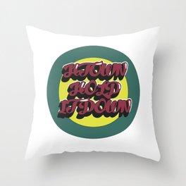H-Town Throw Pillow