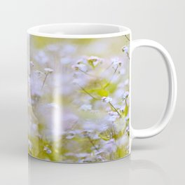 Forget-me-nots On a Windy Day #decor #society6 Coffee Mug