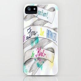skinny love iPhone Case