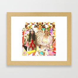 City of Sogni D'oro Collage Framed Art Print