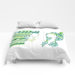 Peter Pan and Tiger Lilly Comforters