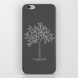 swirl tree iPhone Skin