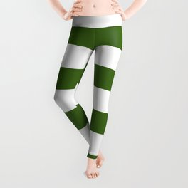 Simply Stripes in Jungle Green Leggings
