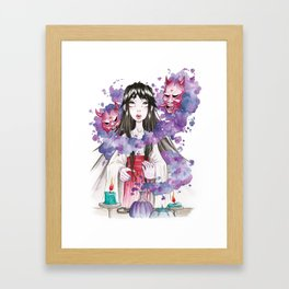 The Miko Framed Art Print