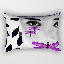 DRAGONFLY WOMAN 2 Rectangular Pillow