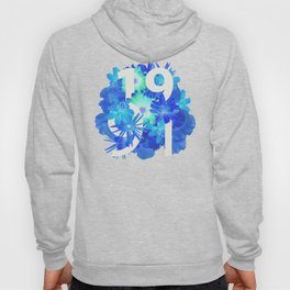 Blue Flower 1991 Hoody