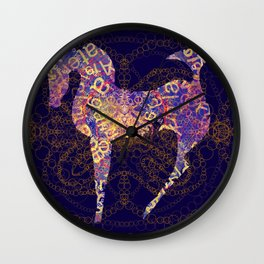 horse secrets Wall Clock