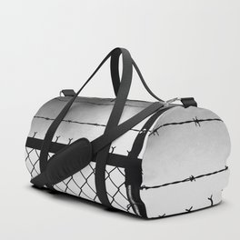 barbed wire Duffle Bag