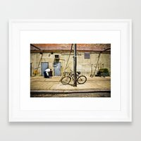 packers Framed Art Prints featuring Meat Packers by Charles Butterworth