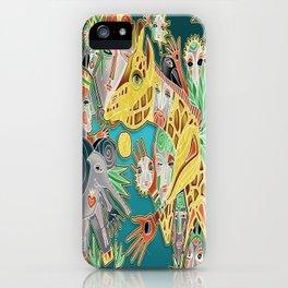 giraffe shaman iPhone Case
