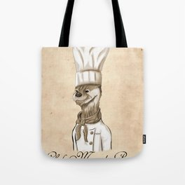 Chef Marcel Pascal Tote Bag