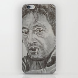 Serge Gainsbourg iPhone Skin