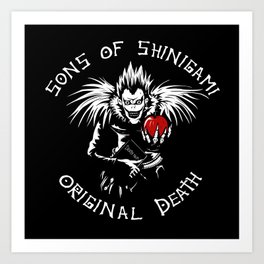 Sons of Ryuk Art Print