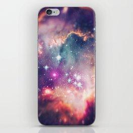 The Universe under the Microscope (Magellanic Cloud) iPhone Skin